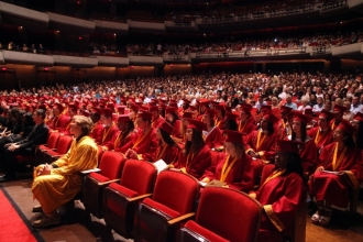 5.23.19. Brooks DeBartolo HS Graduation at The Straz. 5.23.2019 Photo by Bill Serne.