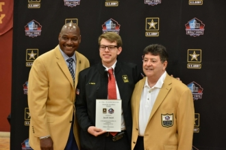 US Army-Pro Football Hall of Fame Assembly